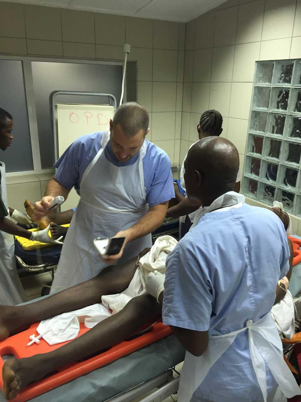 Marco, EMERGENCY surgeon in Sierra Leone