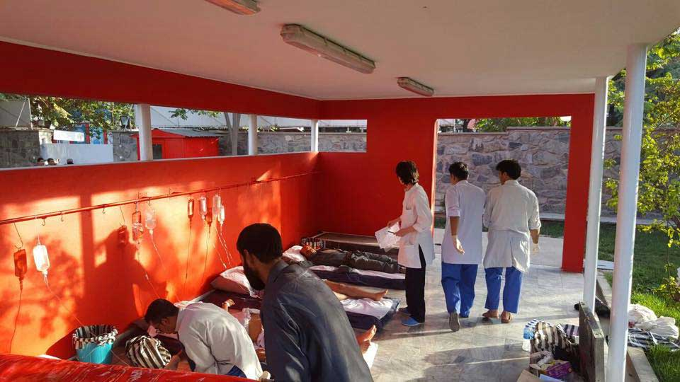Mass casualty nel Centro chirurgico di EMERGENCY a Kabul Afghanistan