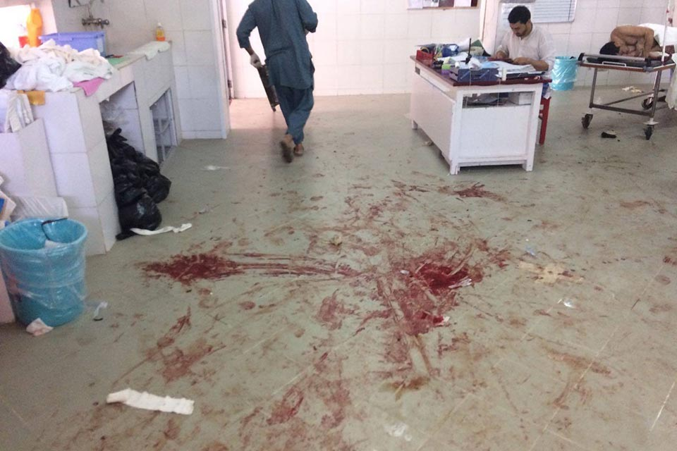 In the EMERGENCY Lashkar-gah's hospital OPD