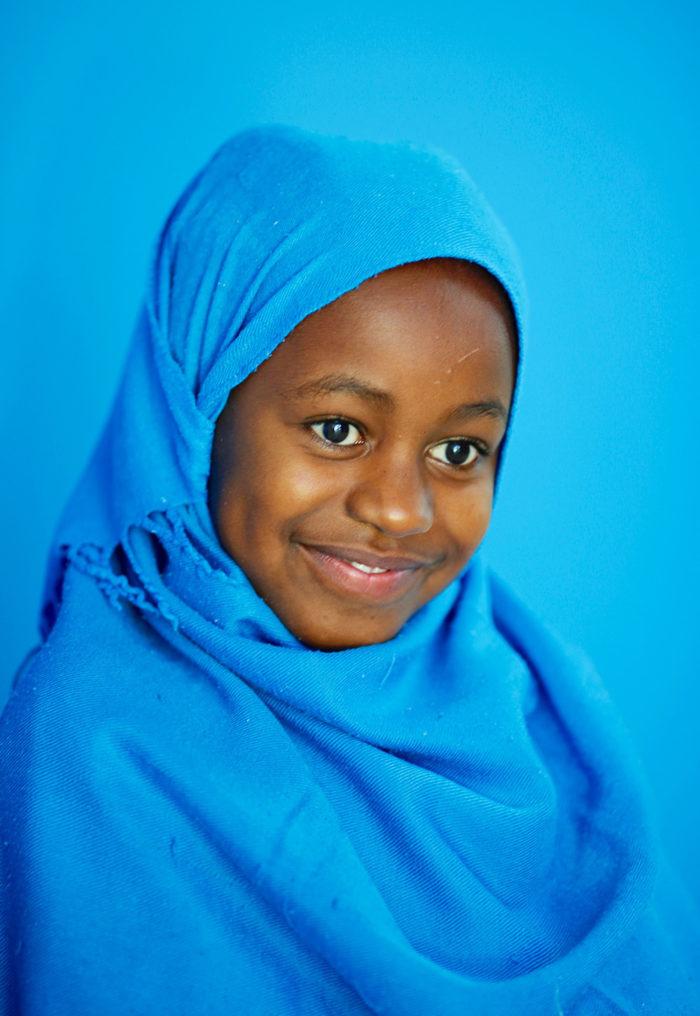 Fatma in the Salam Centre for cardiac surgery