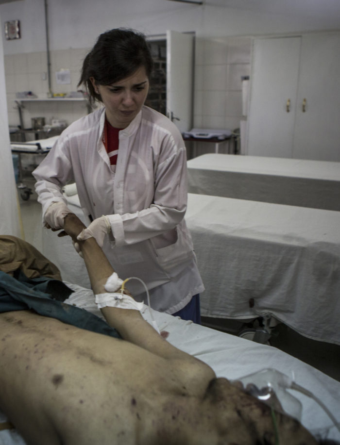 Graziana, EMERGENCY Nurse in Lashkar-gah hospital