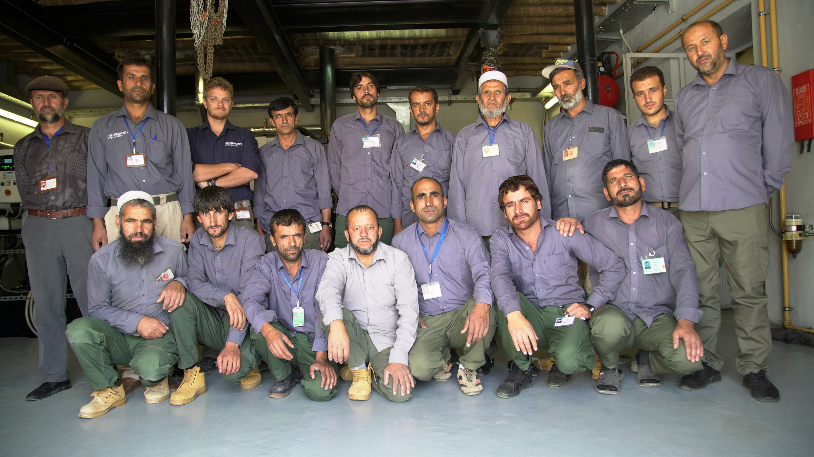 Auxiliary EMERGENCY staff in Anabah