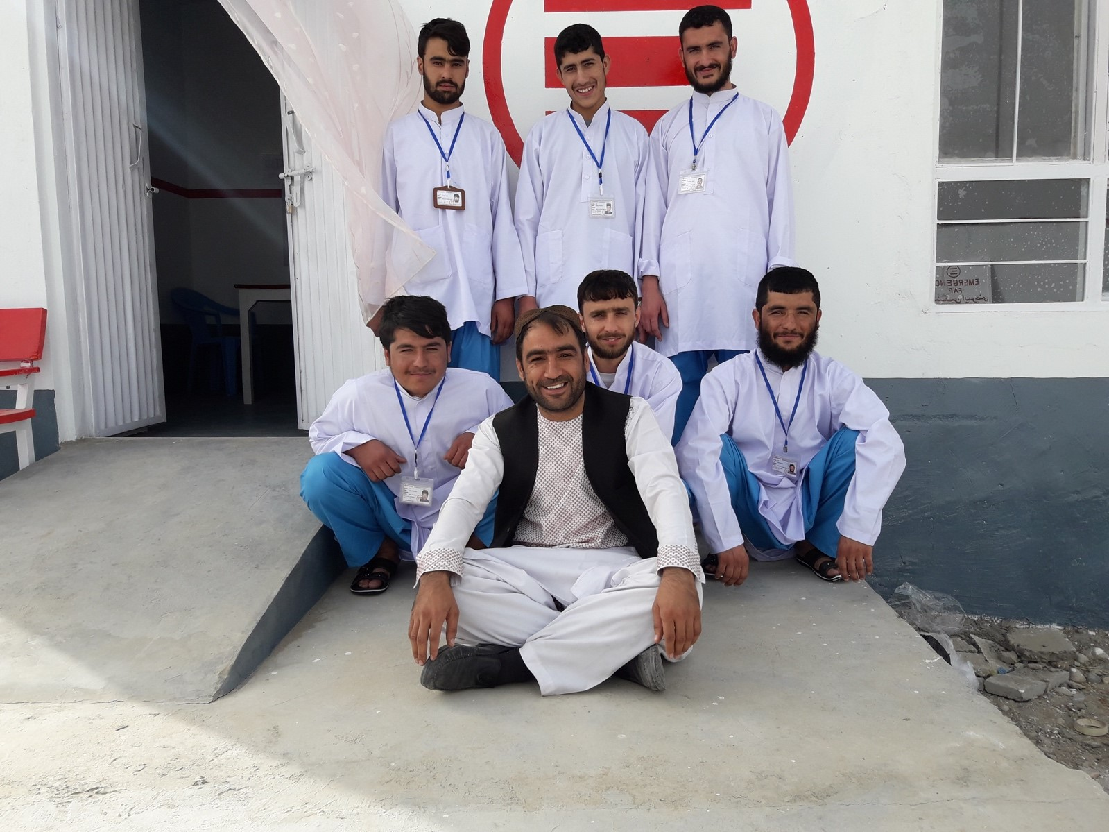 The staff of our Sangin's First Aid Post