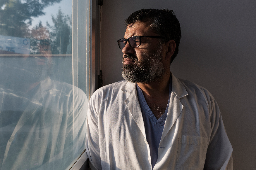 Shah Wali, surgeon in EMERGENCY's Surgical Centre for War Victims in Lashkar-gah