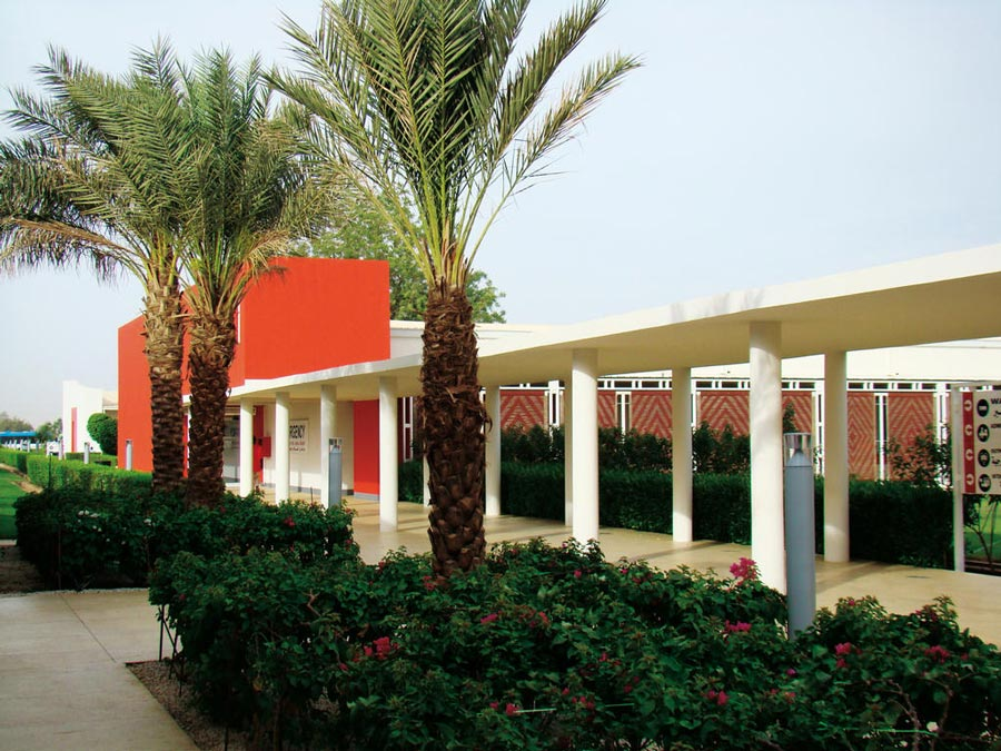 An external view of the Salam Centre for cardiac surgery in Sudan
